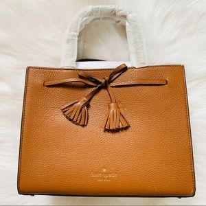 Kate spade small Hayes warm ginger satchel